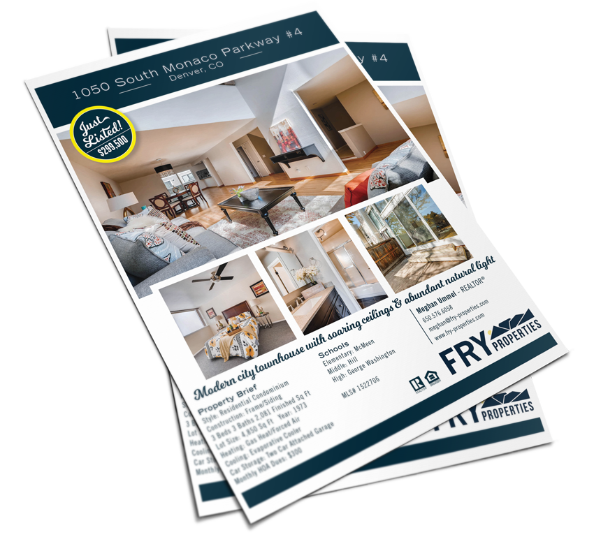 Fry Properties Flyer Example