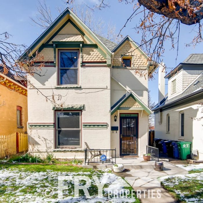 RENTAL: 2449 W 37th Ave